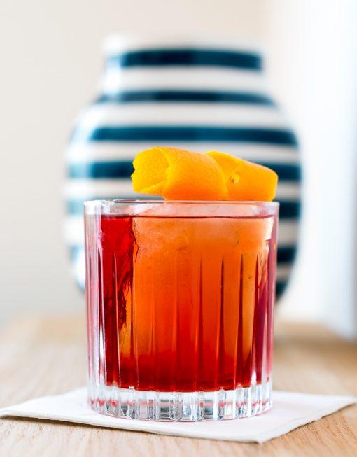 Njord Gin Negroni