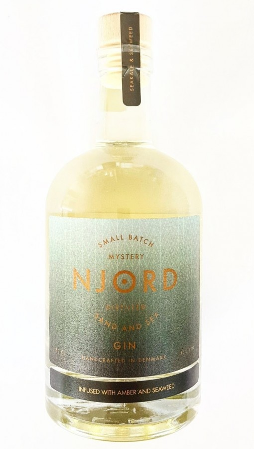 Njord Gin Sand and Sea infused