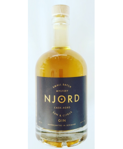 Njord Gin Sun and Citrus cask
